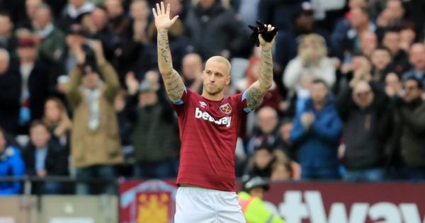 Pellegrini discusses Arnautovic's apparent farewell to West Ham fans