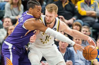 Seven Pacers score in double figures in 131-97 victory over Suns