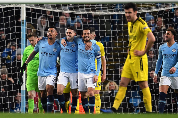 Man City 3 Wolves 0: Gabriel Jesus brace closes title gap on Liverpool