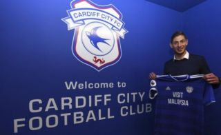 New Cardiff City signing Emiliano Sala feared to have been on plane now missing
