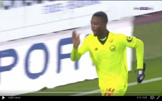Video: Arsenal target Nicolas Pepe scores and pulls off amazing assist for Lille