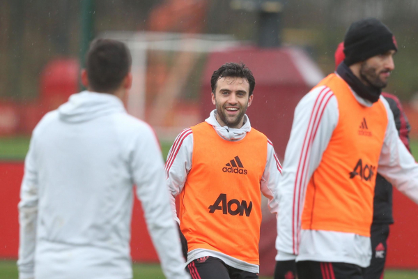 Giuseppe Rossi taking things day by day as he trains with Man Utd amid Tottenham transfer links