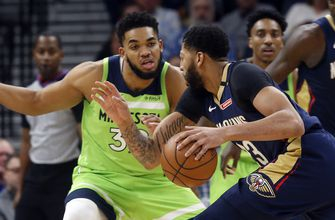 Towns has 27-27 game to lead Wolves past Pelicans, 110-106
