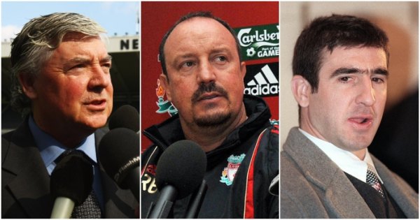 Facts, seagulls, f-bombs: Five brilliant press conferences