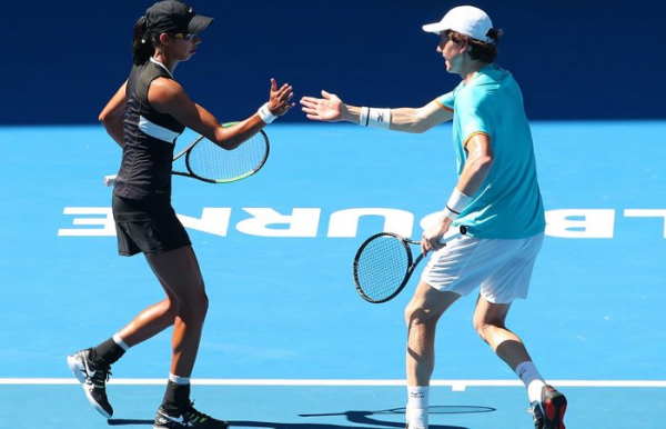 Sharma, Smith into Australian Open mixed semis