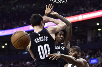 Leonard has 20 points, 11 rebounds, Raptors top Nets 122-105