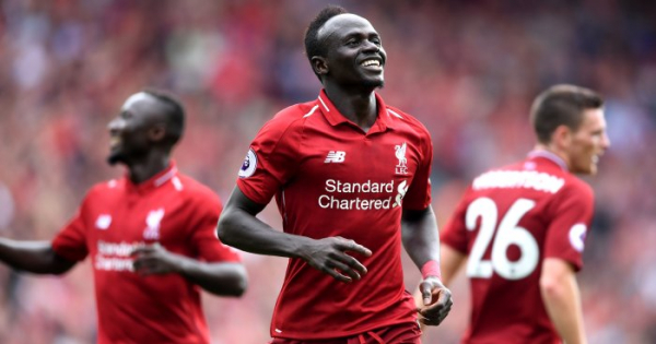 Mane thanks fans as he reaches Liverpool landmark
