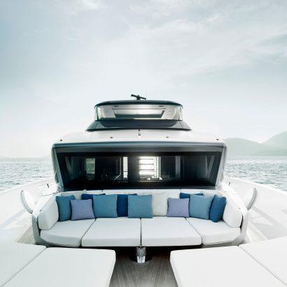 Piero Lissoni brings his minimal style to Sanlorenzo yachts
