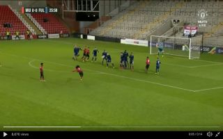 Video: 'He's been watching Mata in training' – These Manchester United fans react to Tahith Chong's scores superb free-kick for Under-23s
