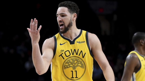 If you need it for some reason, here's another report Klay Thompson is staying with Warriors