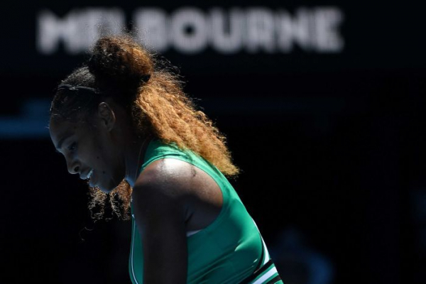 Williams makes dramatic Australian Open exit after third-set collapse