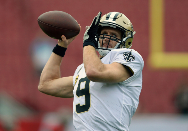 Brees first game at 40 his biggest in 9 years