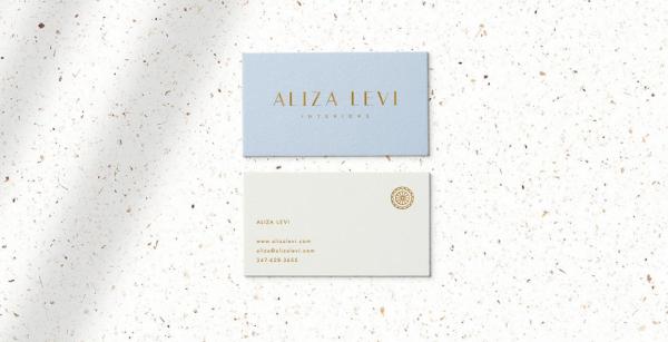Aliza Levi Interiors Branding