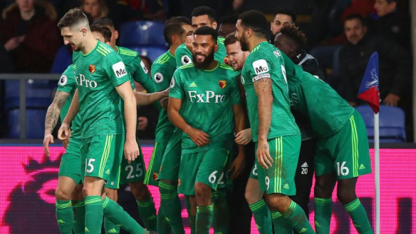 Watford claim comeback win at Palace