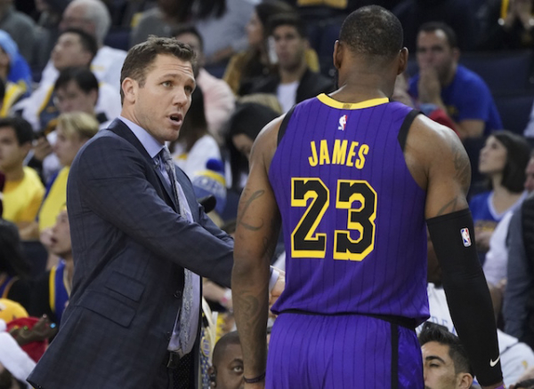 Lakers News: Luke Walton Believes First Half Of Season Brought About 'More Unknown Than There Is Known' But Excited To Forge Ahead