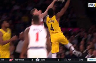 WATCH: Oladipo posterizes a Knicks' defender