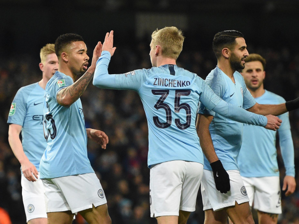 Manchester City were disappointed not to score more against Burton in 9-0 win, admits Oleksandr Zinchenko