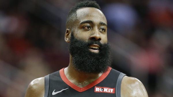 Watch James Harden's latest 40-point triple-double, leads Rockets past Cavaliers