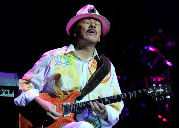 Santana reportedly Woodstock 50's first headliner
