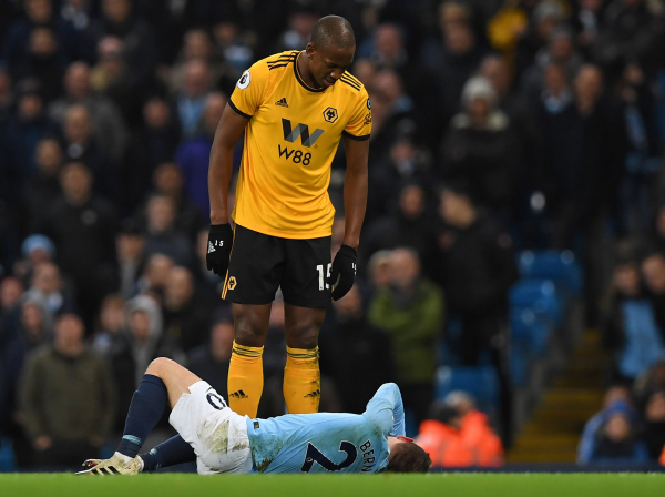 Willy Bolly red card: Wolves boss Nuno Espirito Santo has no complaints with decision vs Manchester City