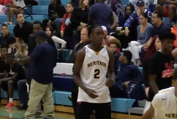Zaire Wade Puts on a Show in OT Thriller, Scores 32 Points
