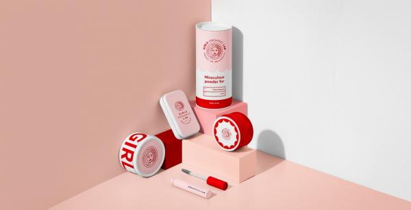 Girls Organic Lab Packaging