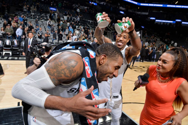 'He Carried Us': LaMarcus Adridge Drops 56 Points on the Thunder
