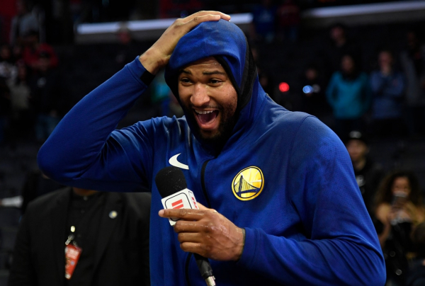 'I Felt Like a Kid on Christmas': DeMarcus Drops 14 Points in Warriors Debut ?