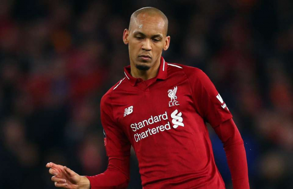 Liverpool fans were making the same point about Fabinho in defence v Brighton