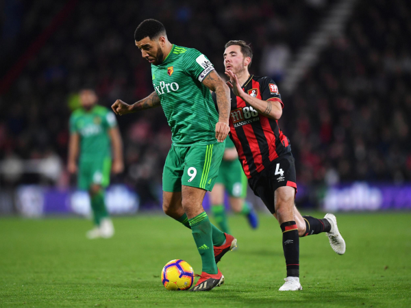 Troy Deeney charged by FA for referee bottling comments following Watfords draw against Bournemouth