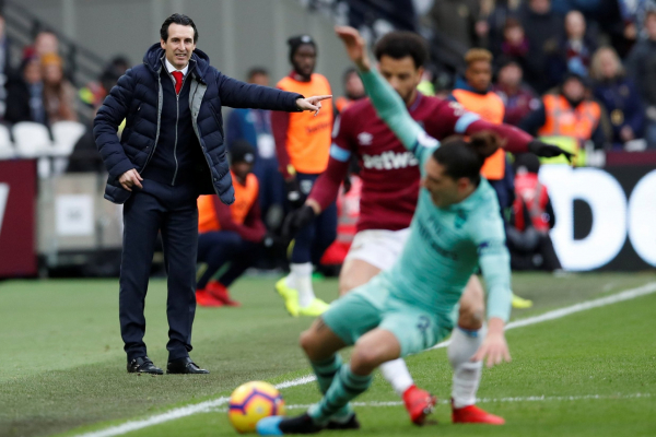 Arsenal had enough to beat West Ham without Mesut Ozil, insists Unai Emery