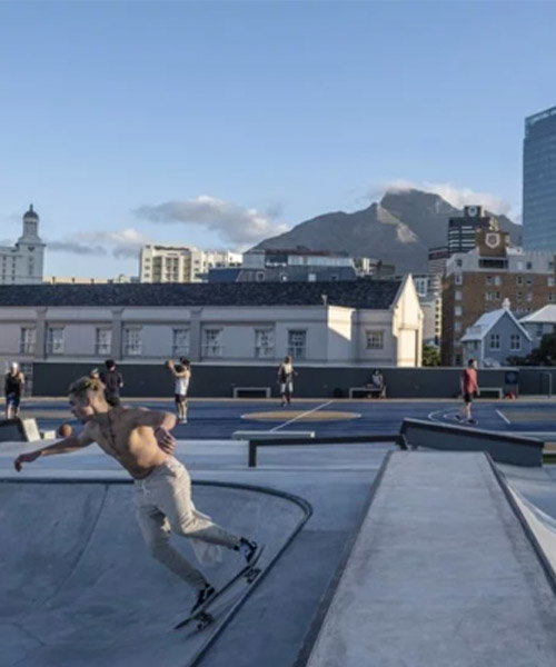 dhk reinvigorates the V&A waterfront in cape town with new 'battery park'