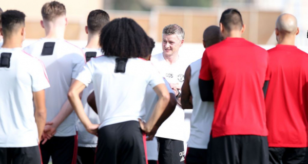 What Ole Gunnar Solskjaer told his Manchester United squad during team dinner in Dubai
