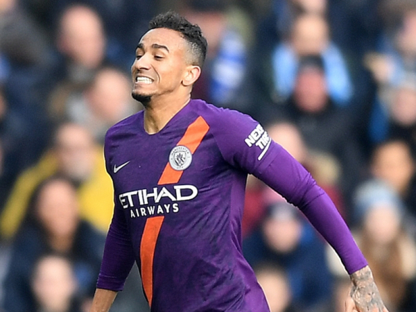 Goals galore! Manchester City hit 100 for the season with Danilo strike against Huddersfield