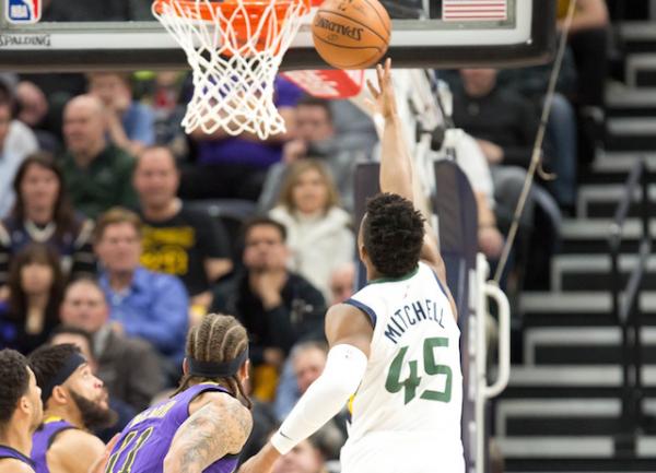 Donovan Mitchell, Utah Jazz Snap Lakers' 2-Game Winning Streak