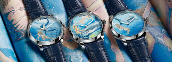 milo manara's illustrated watches for ulysse nardin take you on an erotic voyage