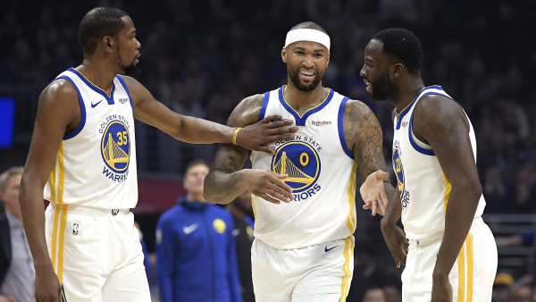Everything big and small goes right for DeMarcus Cousins in Warriors debut