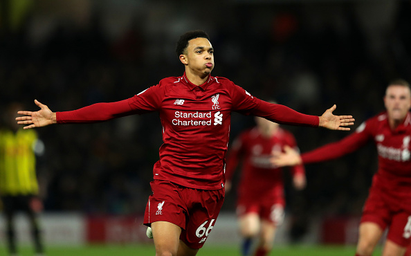 Trent Alexander-Arnold plays through the pain in Brighton win