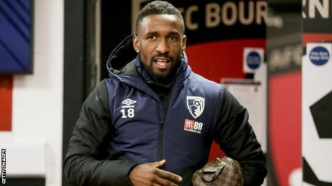 Rangers sign Defoe on loan from Bournemouth