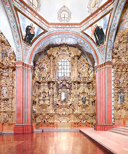 candida höfer's architectural photography in mexico exhibits in new york city