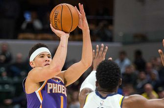Booker returns but Suns routed by Pacers