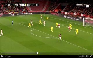 Video: Mesut Ozil's moment of magic during Arsenal vs BATE