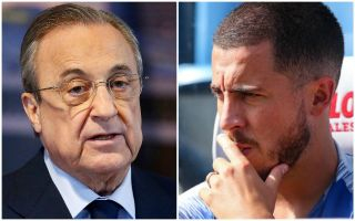 Chelsea star Eden Hazard contacts Real Madrid president with major transfer update