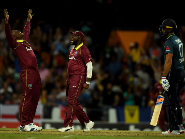 West Indies level ODI series after England collapse