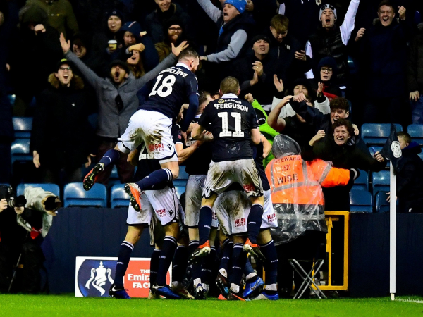Millwall charged over alleged racist chanting during Everton FA Cup tie