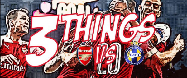 Three things we learned from Arsenal 3-0 BATE