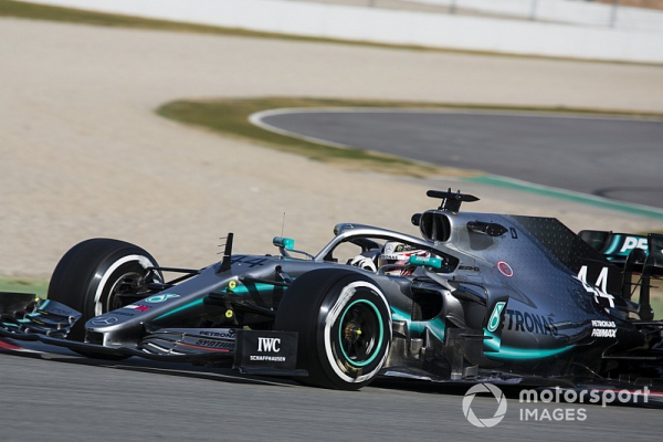 "Hamilton: New Mercedes F1 car ""feels different"" to last year's"