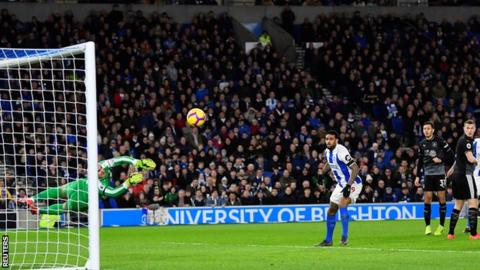 Wood double helps Burnley move out of drop zone with win at Brighton