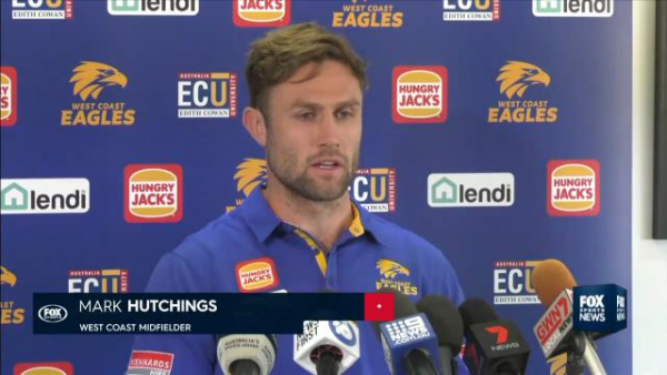 AFL 2019: Jack Redden leaves West Coast Eagles training early with knee injury