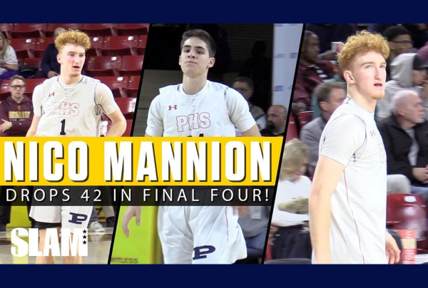 Nico Mannion ERUPTS For 42 Points in State Final Four ?